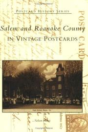 Cover of: Salem and Roanoke County in Vintage Postcards  (VA) by Nelson Harris