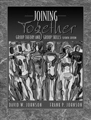 Cover of: Joining together by Johnson, David W.