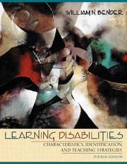 Cover of: Learning disabilities by William N. Bender