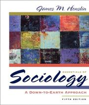 Cover of: Essentials of Sociology by James M. Henslin