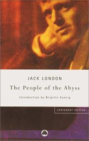 Cover of: The People of the Abyss by Jack London