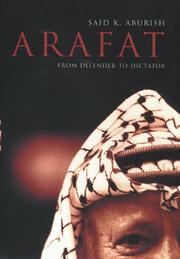 Cover of: Arafat by Saïd K. Aburish