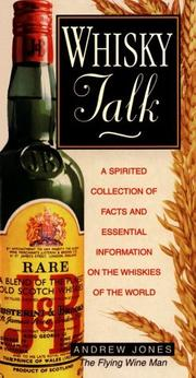 Cover of: Whiskey Talk by Andrew Jones