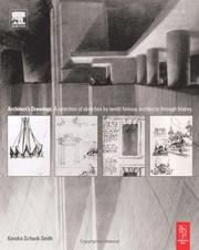 Cover of: Architect's Drawings by Kendra Schank Smith