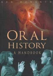 Cover of: Oral history by Ken Howarth