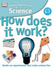 Cover of: How Does It Work? (Experiments in Science) by David Glover