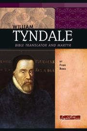 Cover of: William Tyndale by Fran Rees
