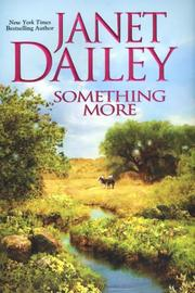 Cover of: Something More by Janet Dailey
