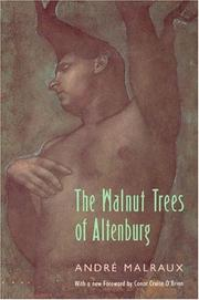 Cover of: Noyers de l'Altenburg by André Malraux