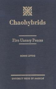 Cover of: Chaohybrids by Ronnie Lippens