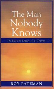 Cover of: The Man Nobody Knows by Roy Pateman
