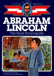 Cover of: Abe Lincoln, frontier boy by Augusta Stevenson
