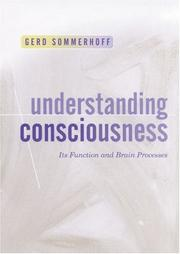 Cover of: Understanding Consciousness by Gerd Sommerhoff