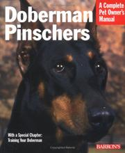 Cover of: Doberman pinschers by Raymond Gudas