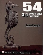 Cover of: 54 3-D Scroll Saw Patterns by Frank Pozsgai