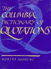 Cover of: famous lines by Robert Andrews