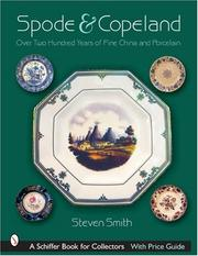 Cover of: Spode & Copeland by Steven A. Smith