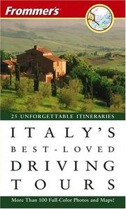 Cover of: Frommer&#39;s Italy&#39;s Best-Loved Driving Tours (Best Loved Driving Tours) by British Auto Association