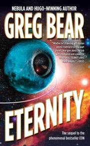 Cover of: Eternity by Greg Bear