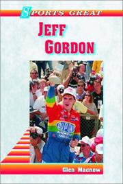 Cover of: Sports great Jeff Gordon by Glen Macnow