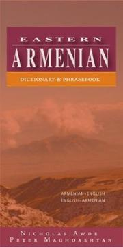 Cover of: Eastern Armenian by Nicholas Awde