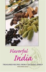 Cover of: Flavorful India by Priti Chitnis Gress