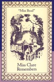 Cover of: Miss Clare remembers by Miss Read