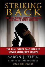 Cover of: Striking Back by Aaron J. Klein