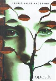 Cover of: Speak by Laurie Halse Anderson