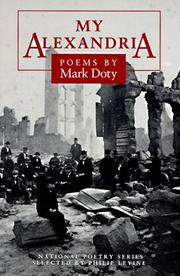 Cover of: My Alexandria by Mark Doty