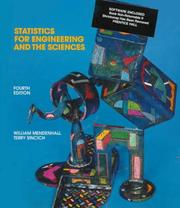 Cover of: Statistics for engineering and the sciences by William Mendenhall