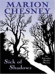 Cover of: Sick of shadows by Marion Chesney
