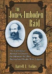 Cover of: The Jones-Imboden raid by Darrell L. Collins