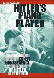 Cover of: Hitler's piano player by Conradi, Peter., Peter Conradi