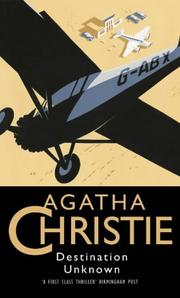 Cover of: Destination Unknown by Agatha Christie