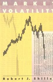 Cover of: Market Volatility by Robert J. Shiller