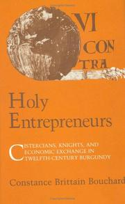 Cover of: Holy entrepreneurs by Constance Brittain Bouchard
