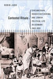 Cover of: Contested Rituals by Robin Judd