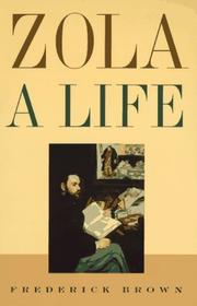 Cover of: Zola by Brown, Frederick