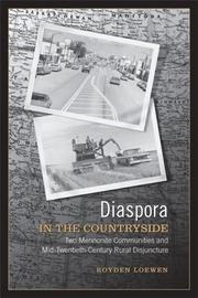 Cover of: Diaspora in the Countryside by Royden Loewen
