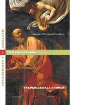 Cover of: Matthew by Frederick Dale Bruner