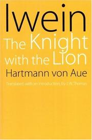 Cover of: Iwein by Hartmann von Aue, Hartmann von Aue