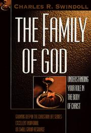 Cover of: The Family of God by Charles R. Swindoll