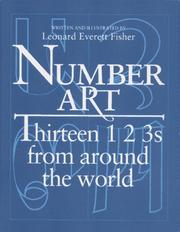 Cover of: Number art by Leonard Everett Fisher