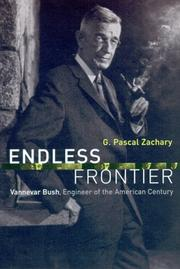 Cover of: Endless frontier by G. Pascal Zachary