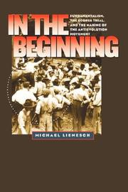 Cover of: In the Beginning by Michael Lienesch