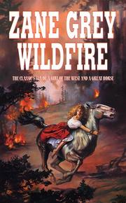 Cover of: Wildfire by Zane Grey