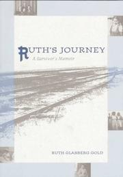 Cover of: Ruth's Journey by Ruth Glasberg Gold