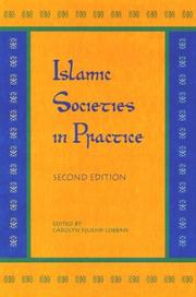 Cover of: Islamic Societies in Practice by Carolyn Fluehr-Lobban