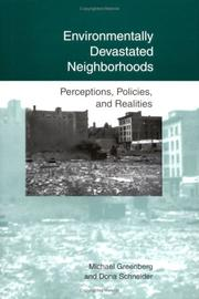 Cover of: Environmentally devastated neighborhoods by Michael R. Greenberg